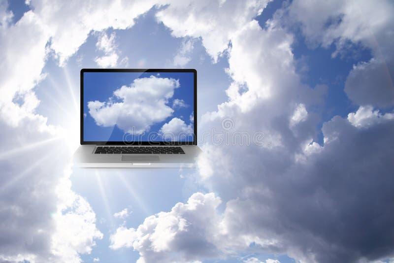 Calcul de nuage image libre de droits