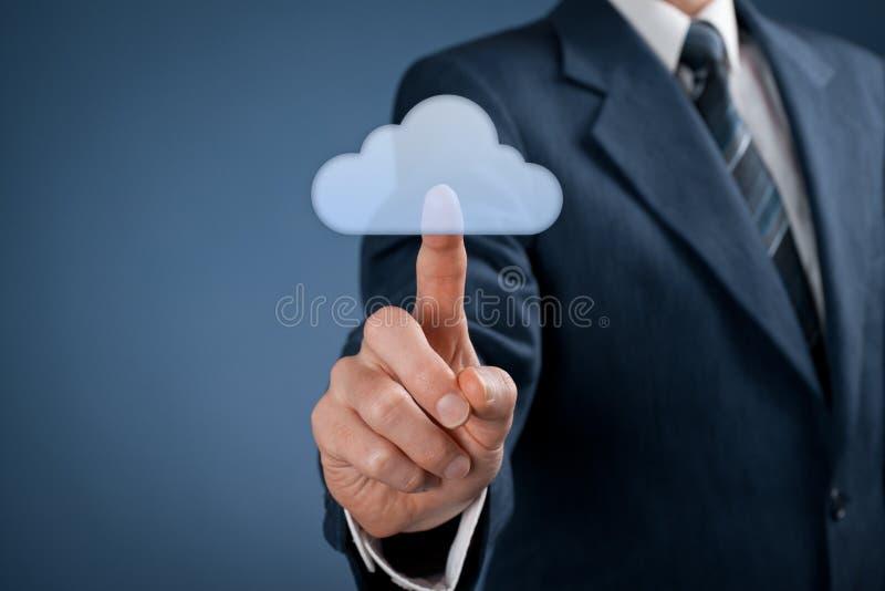 Calcul de nuage photos libres de droits