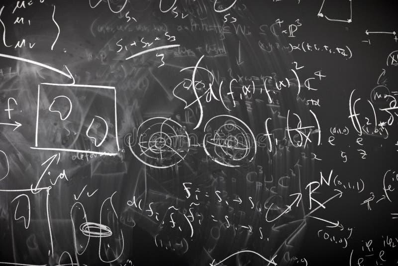 Calcul malpropre de mathématiques photographie stock libre de droits