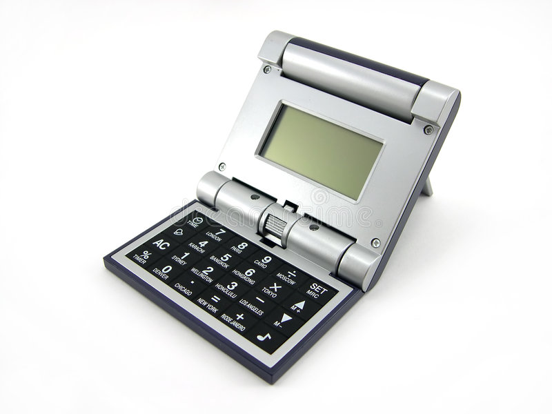A calculadora foto de stock