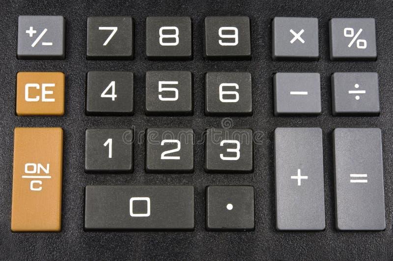 Calculadora fotografía de archivo