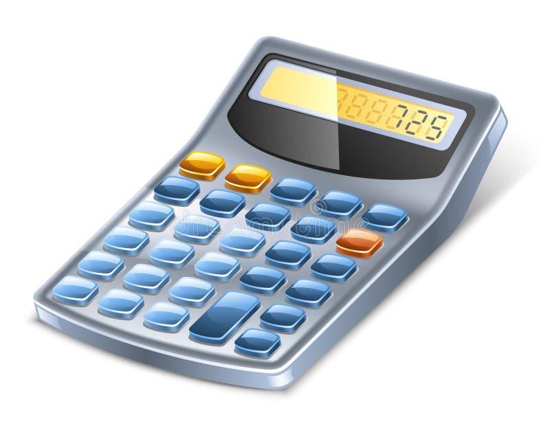 Calculadora ilustração stock