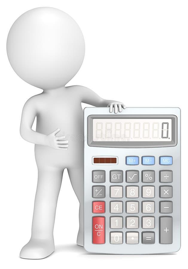 Calculadora. ilustração royalty free