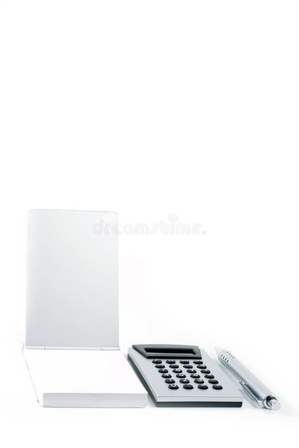 Calculadora. imagem de stock