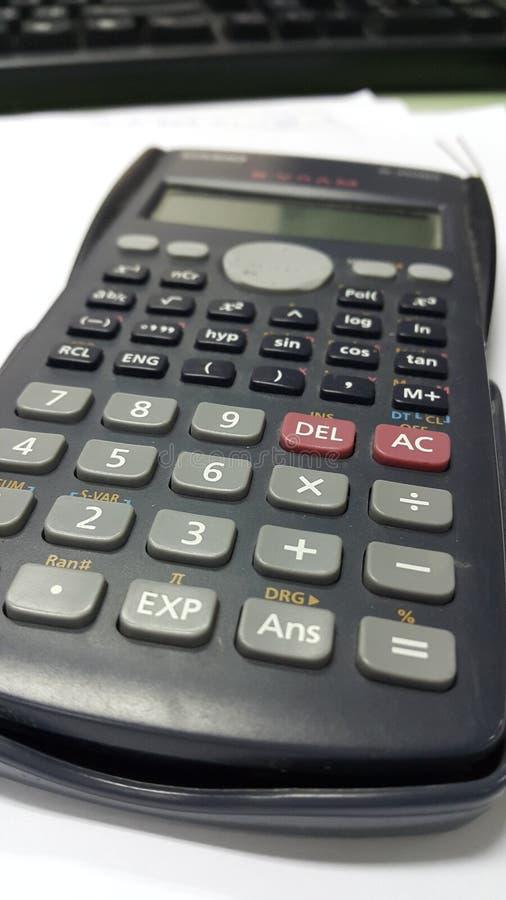 Calculadora imagen de archivo