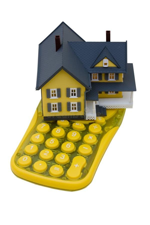 Calculadora da hipoteca foto de stock royalty free