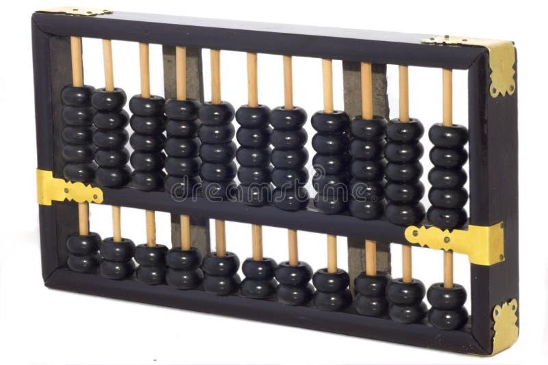 Calculadora del ábaco imágenes de archivo libres de regalías