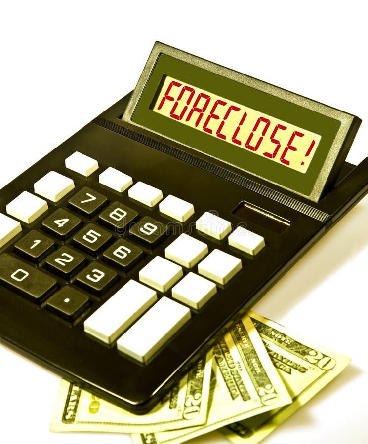 A calculadora diz   imagem de stock royalty free