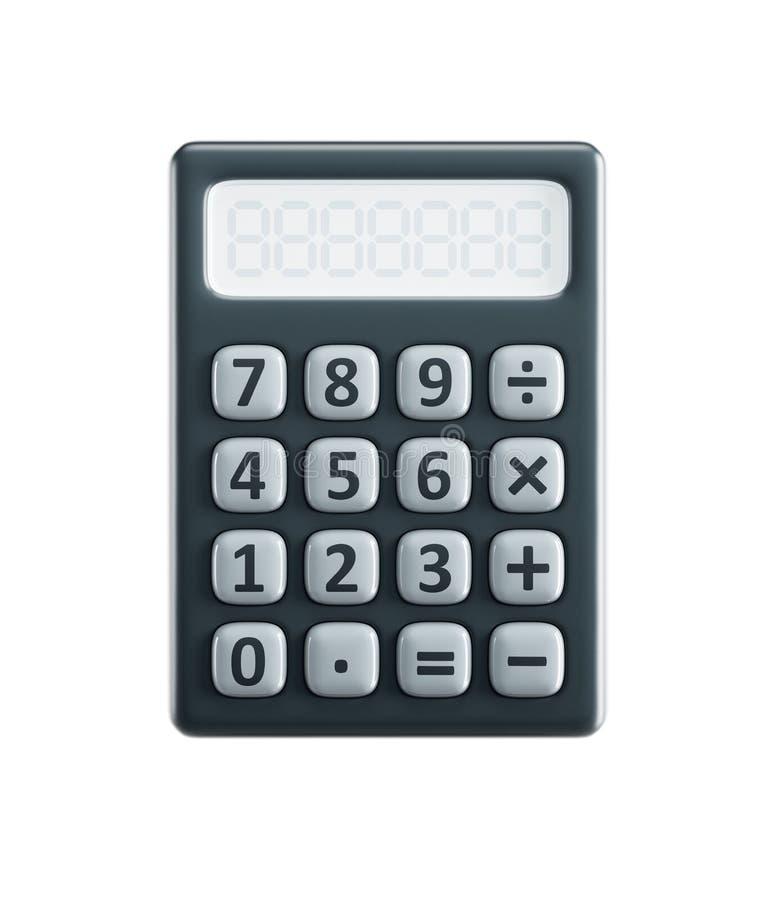 Calculadora isolada ilustração stock