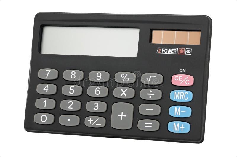 Calculadora portátil imagens de stock royalty free