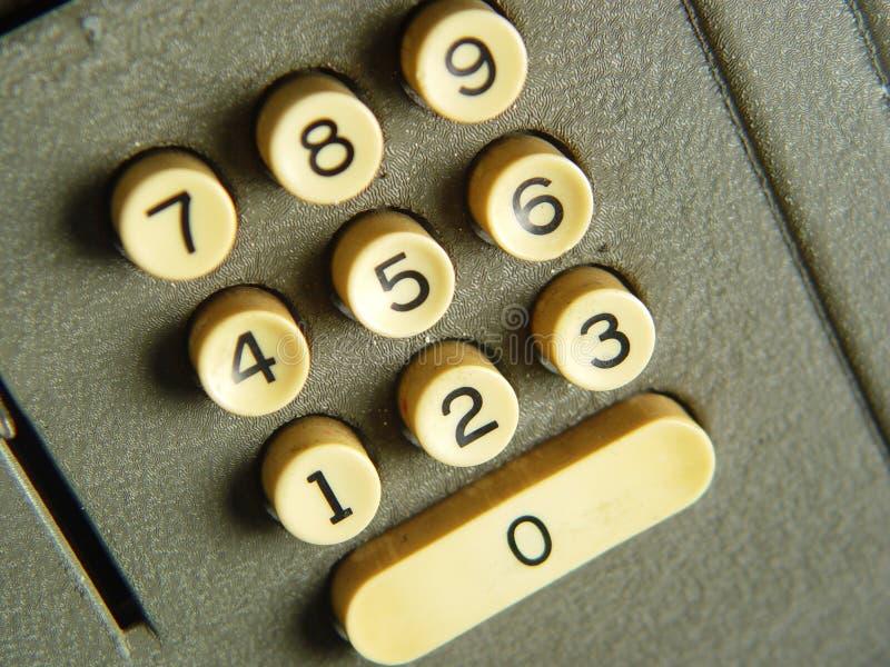 Calculadora retra foto de archivo