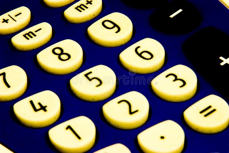 Calculadora Suja Imagens de Stock Royalty Free