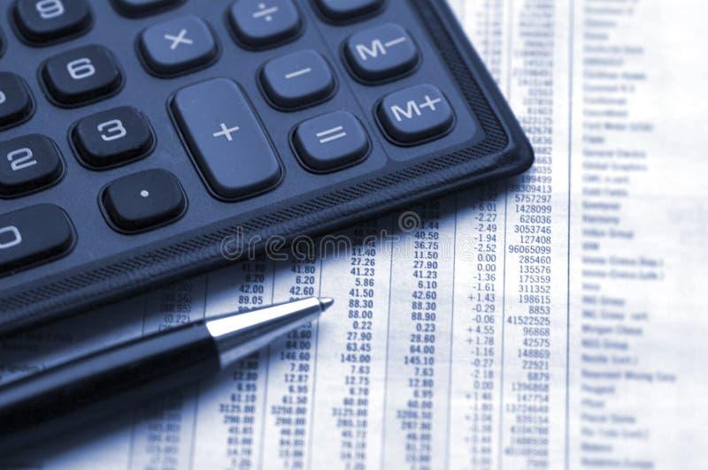 Calculate profit stock photos