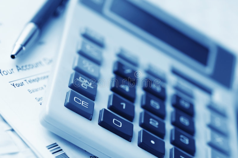 Download Calculating stock photo. Image of consumerism, bill, money - 3999016