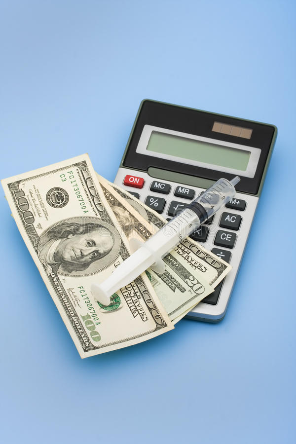 Download Calculating Healthcare Costs Stock Photo - Image: 11248220