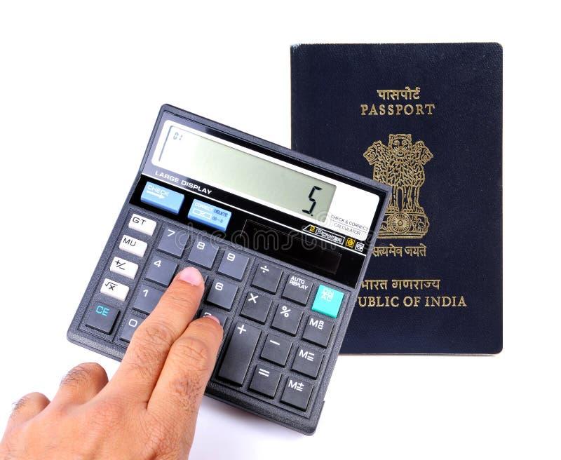 Calculating passport fees