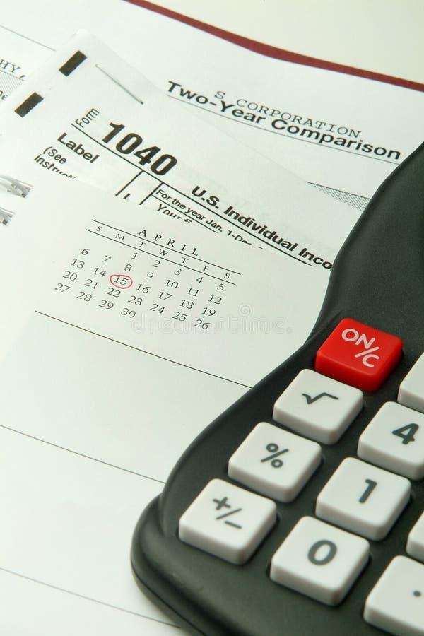 calculating skatter royaltyfri bild