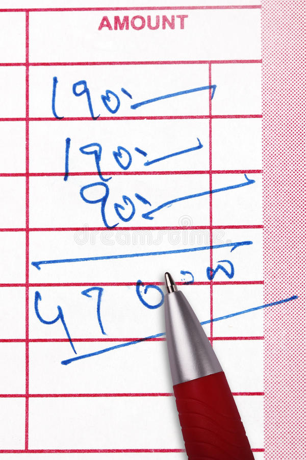 Free Calculating Total Amount Royalty Free Stock Images - 20656839