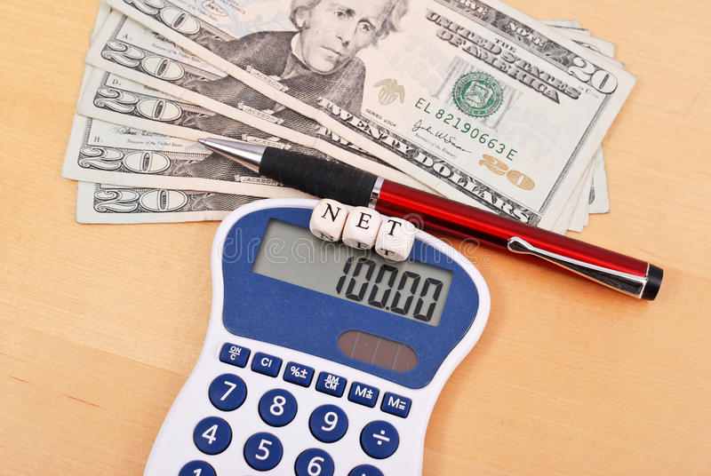 Download Calculating Your Net Profit Stock Image - Image: 21381257