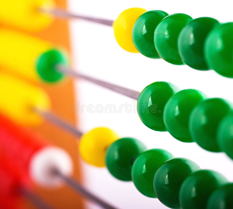 Download Calculation stock image. Image of office, money, beads - 7652543