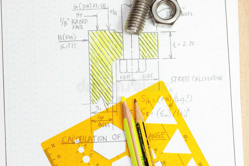 Design of bolt stock photo  Image of copy, calculation - 15306626