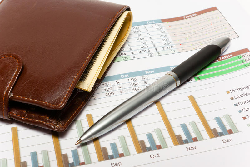 Download Calculation Of House Budget. Stock Photo - Image: 32111762