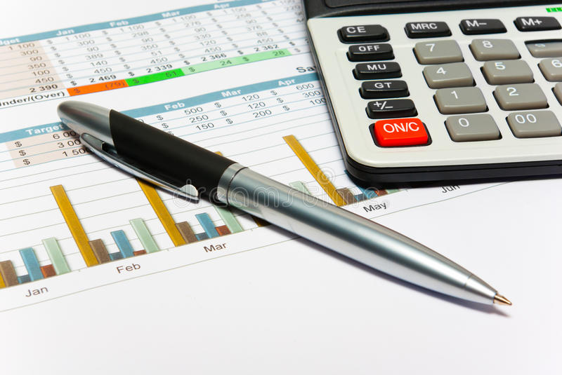 Download Calculation Of House Budget. Stock Photo - Image: 32111122