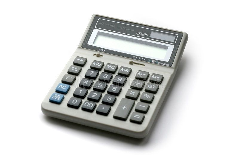 Calculator-1 stock photography