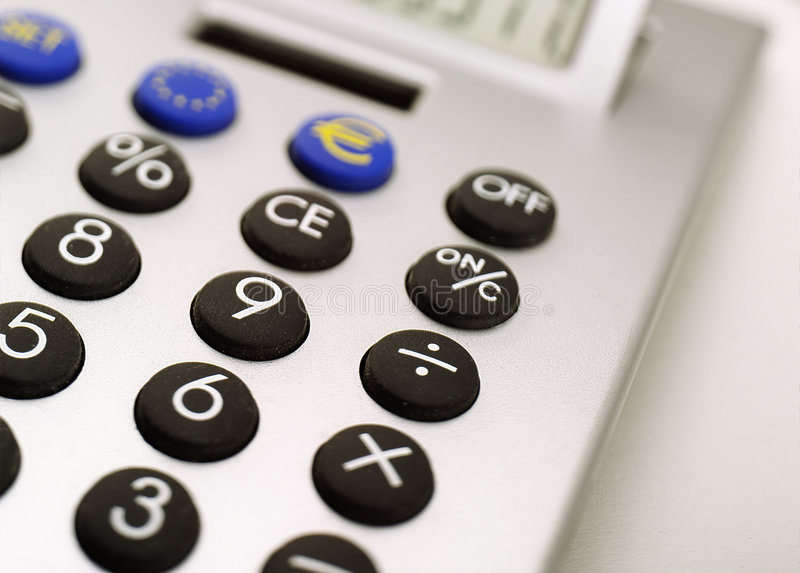 Download Calculator stock image. Image of calculate, class, answer - 1020177