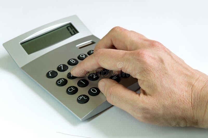 Calculator royalty free stock image