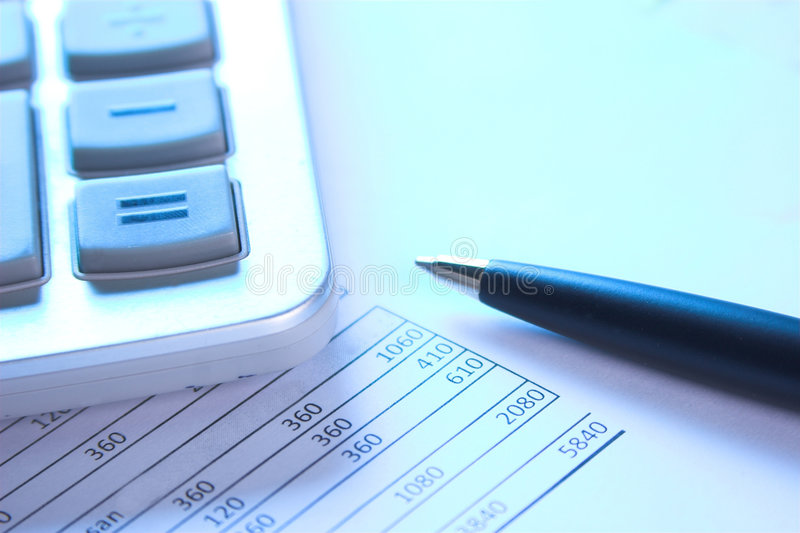 Download Calculator stock image. Image of business, analyzing, data - 2346739