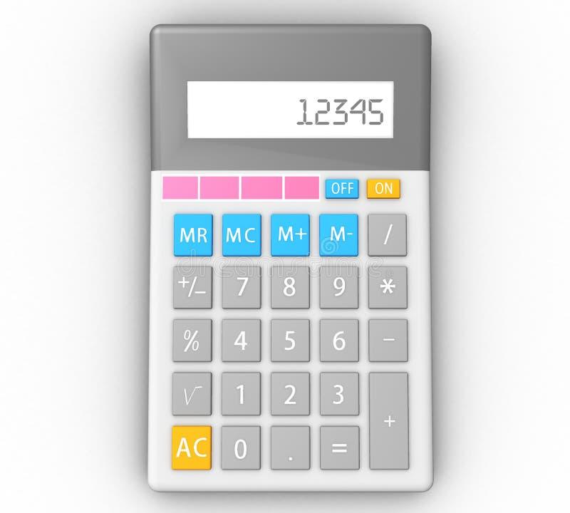 Download Calculator stock illustration. Illustration of mathematics - 25289712