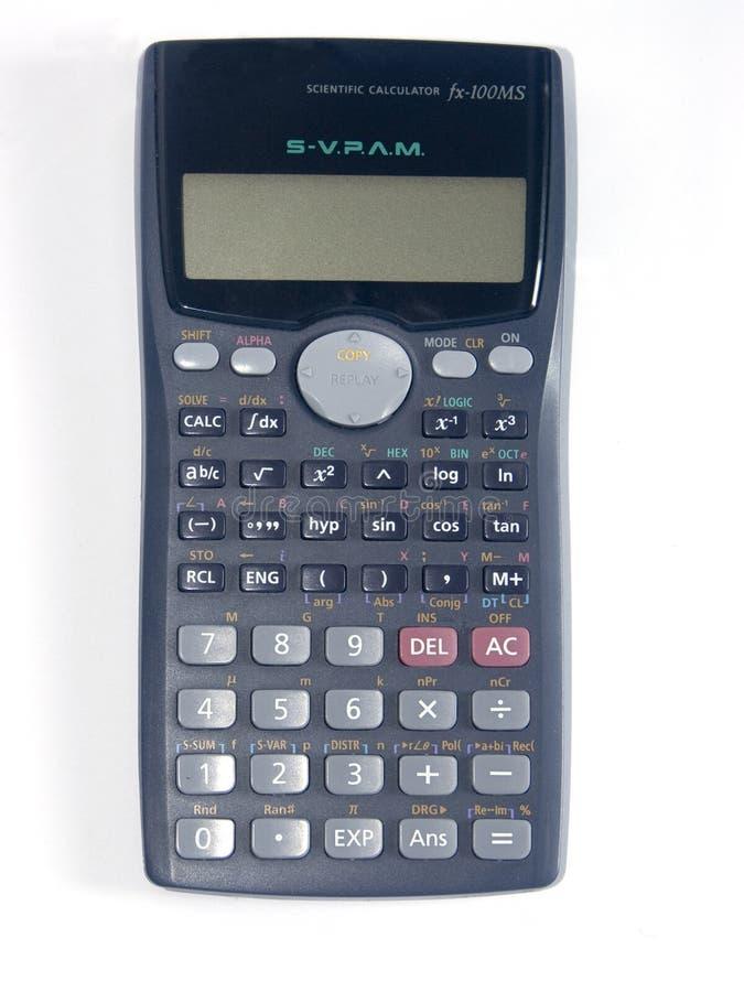 The calculator 3 stock photo