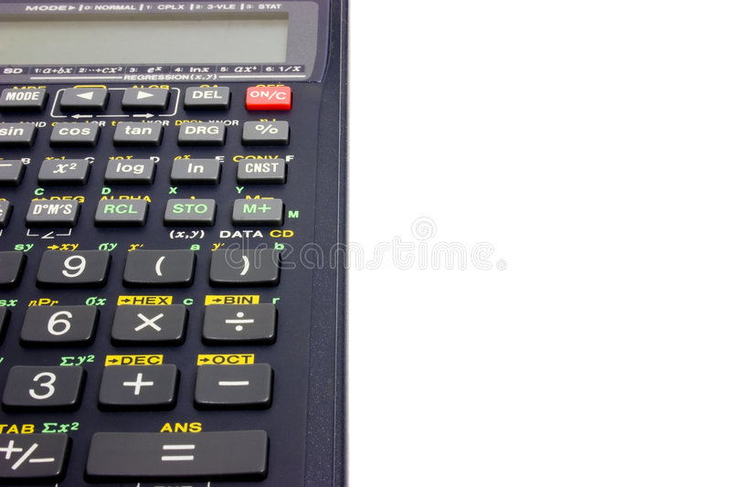Download Calculator stock image. Image of calculate, mathematics - 33485