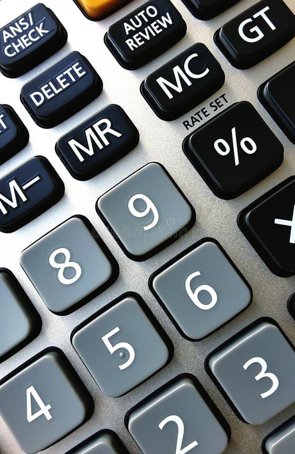 Calculator stock afbeelding