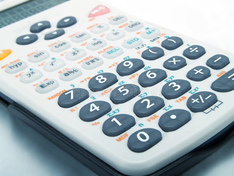 Download Calculator stock image. Image of calculation, salary, white - 4715791