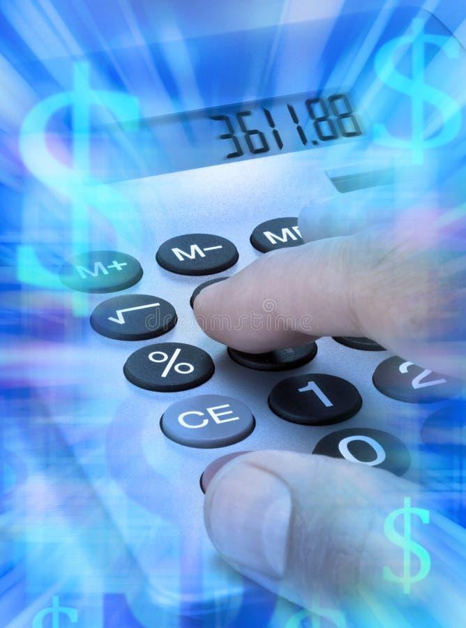 Calculator Calculating Money Budgeting stock photos