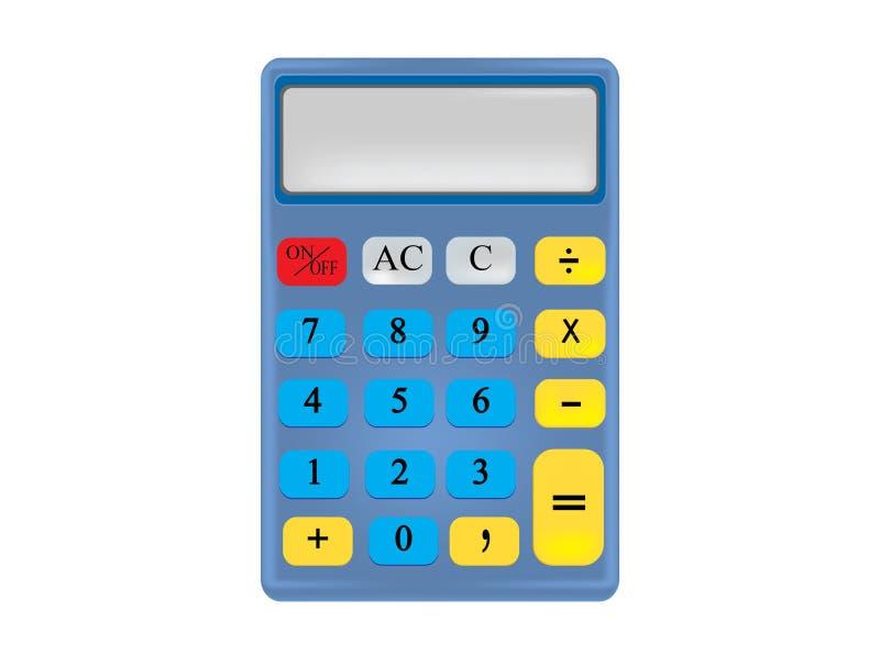 Calculator stock illustration. Illustration of plus, drawing - 33671367