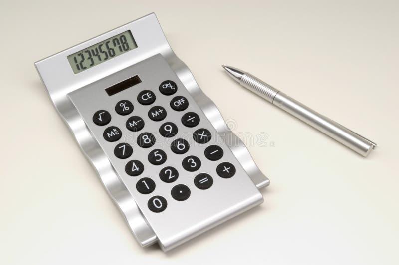 Calculator Met Pen (2) Gratis Stock Fotografie