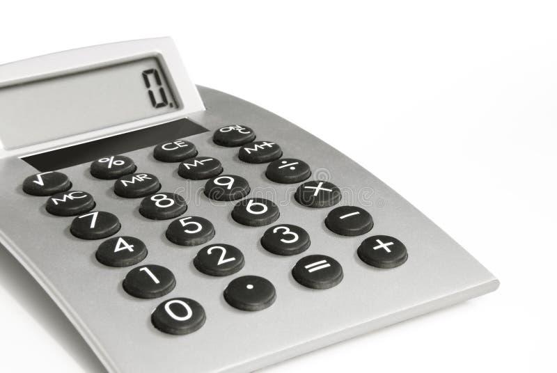 Calculator met Vertoning royalty-vrije stock fotografie