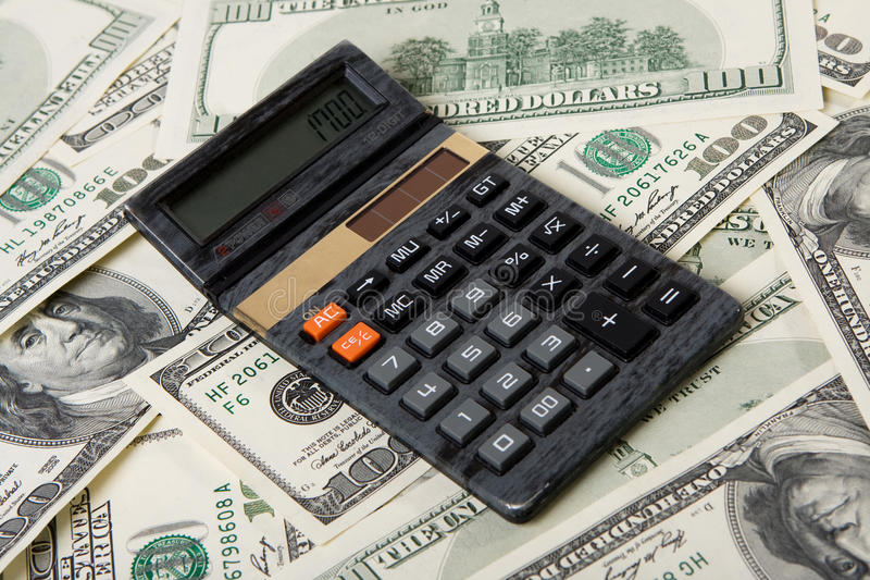 Download Calculator and money stock image. Image of financial - 11357361