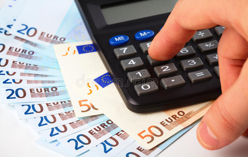 Download Calculator And Money - Accounting Concept Stock Photo - Image: 17957534