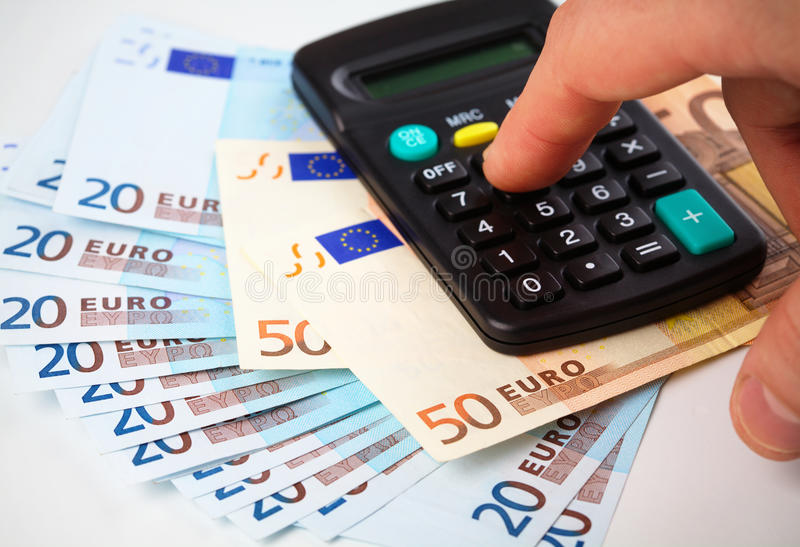 Download Calculator And Money - Accounting Concept Stock Image - Image: 18065177