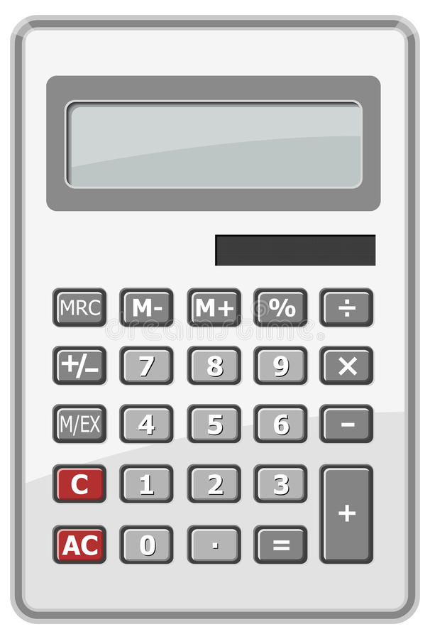 Free Calculator. Vector Royalty Free Stock Photo - 14310745