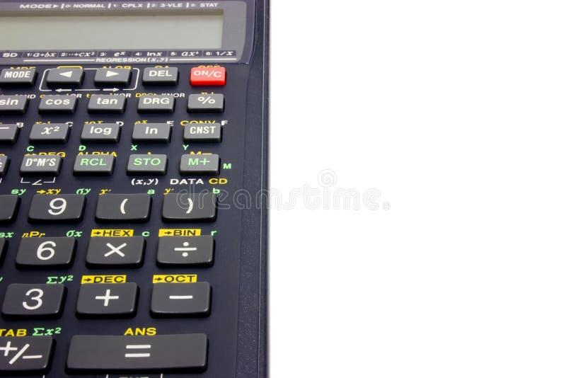 Calculatrice photo libre de droits