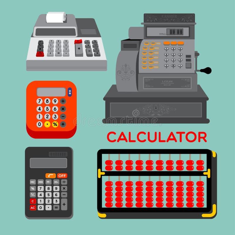 Calculatrice illustration stock