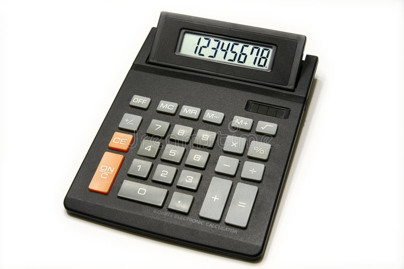 calculatrice images stock