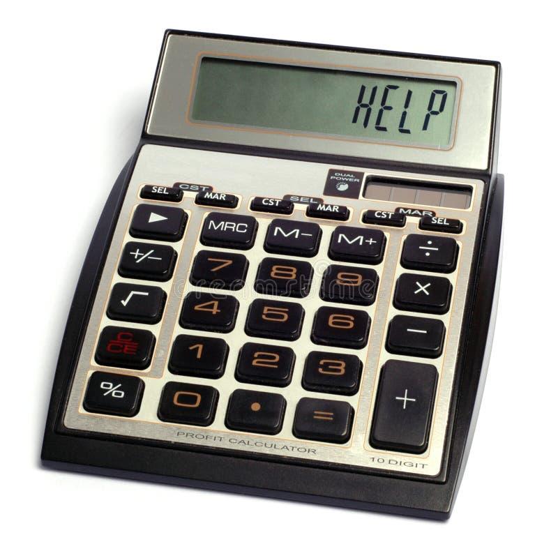 Download Calculatrice photo stock. Image du cash, économique, panne - 8665464