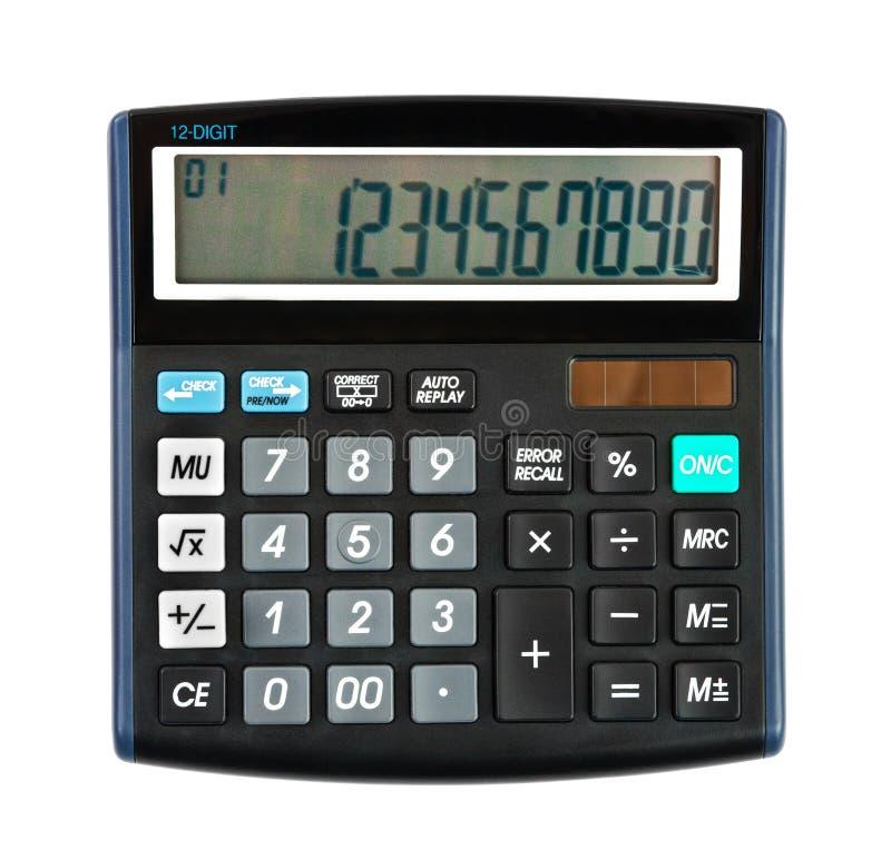 Calculatrice d'affaires photo stock