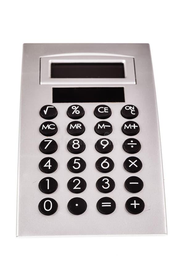 Calculatrice de bureau d'isolement image stock